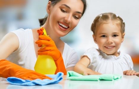 Upratovanie domácnosti bez veľkej námahy