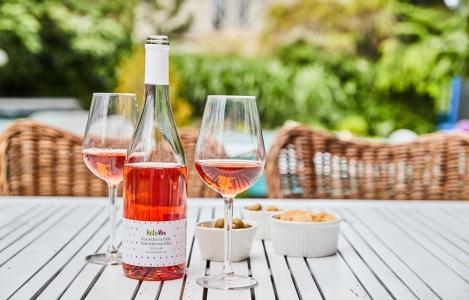 Leto s pohárikom kvalitného vína