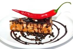 Čokoládová torta s čili