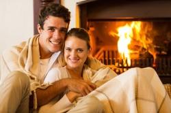 Romantika pri ohni