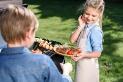 Záhradné stolovanie na terase