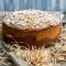 Pudingová torta s mandľami
