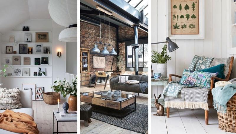 3 obľúbené štýly bývania