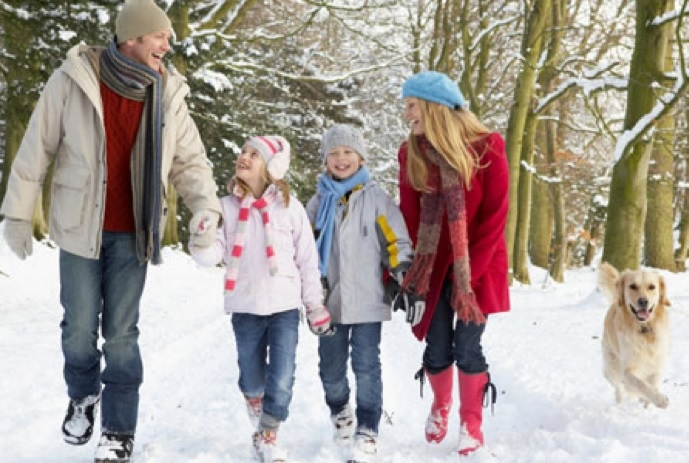 5 dôvodov, prečo ísť v zime na prechádzku